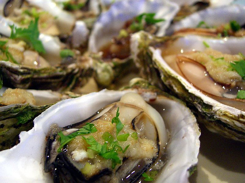 Oysters increase your sex drive 30s